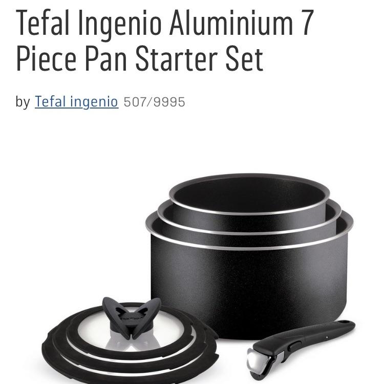 Tefal Ingenio pans
