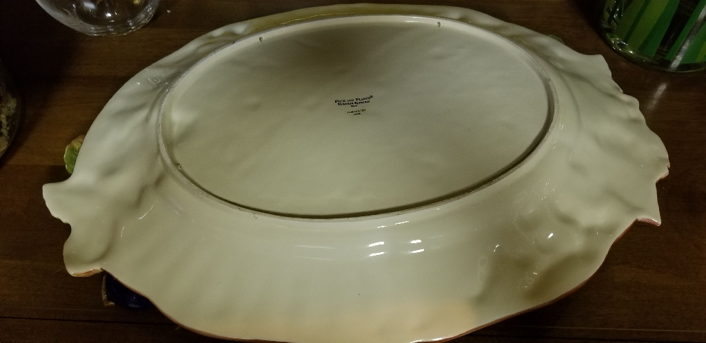 FITZ AND  FLOYD  LARGE  PLATTER