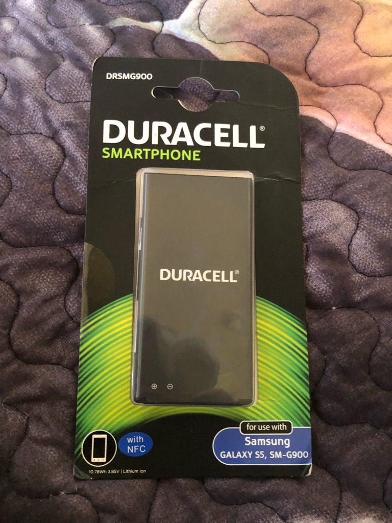 Duracell battery DRSMG900 for s5 samsung