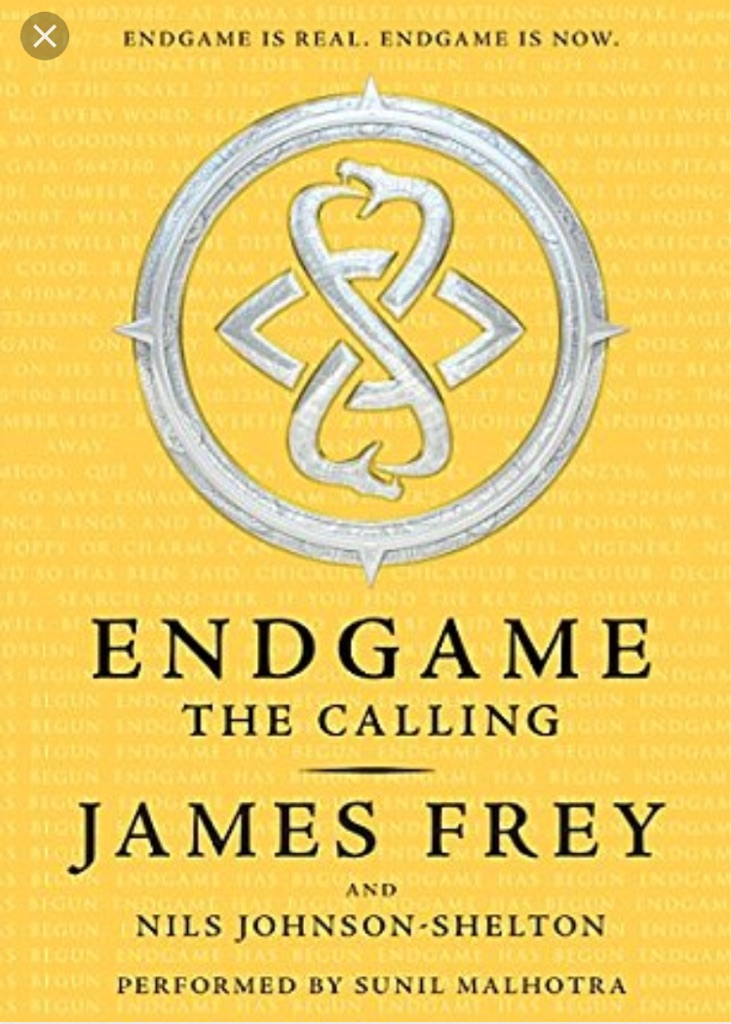 Endgame the calling by James frey great book
