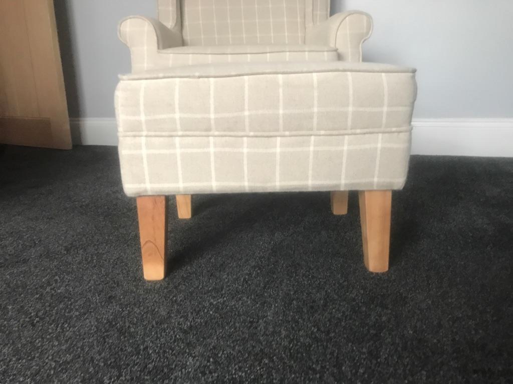 Armchair &a Footstool