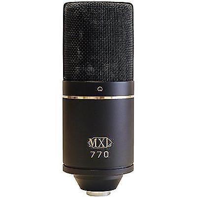 Black mxl 770 microphone