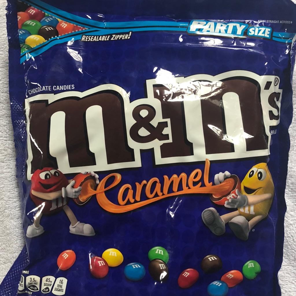 American M&Ms huge party bag 1077.3g