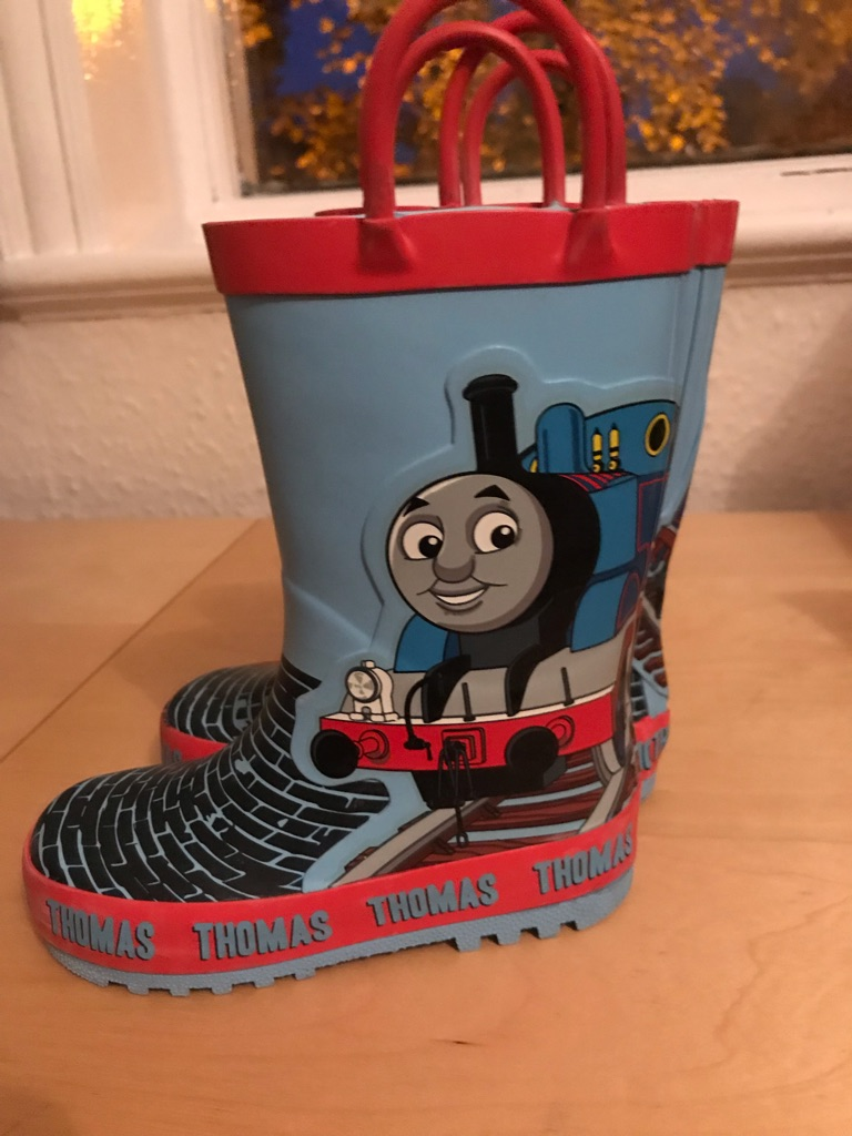 Thomas the tank infant wellies size 7