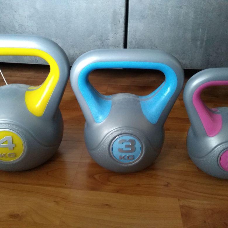 Set of 3 Kettle bells