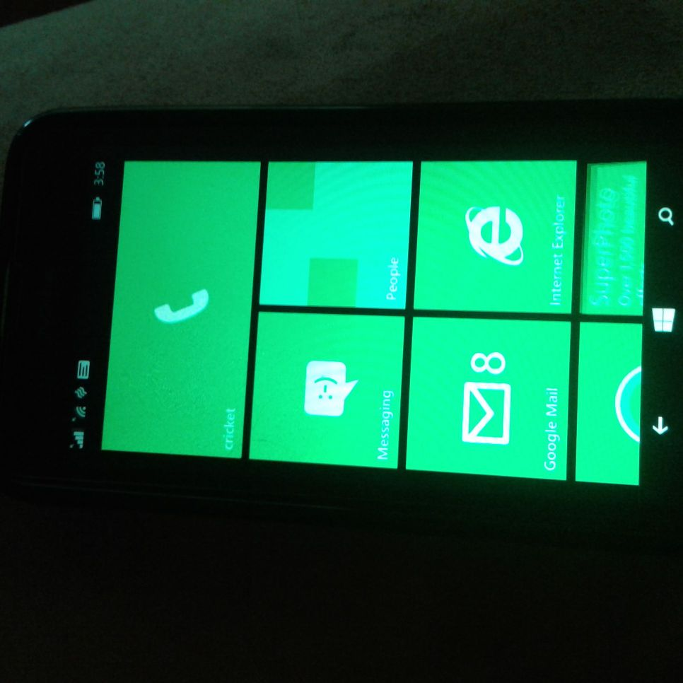 Cricket Windows phone