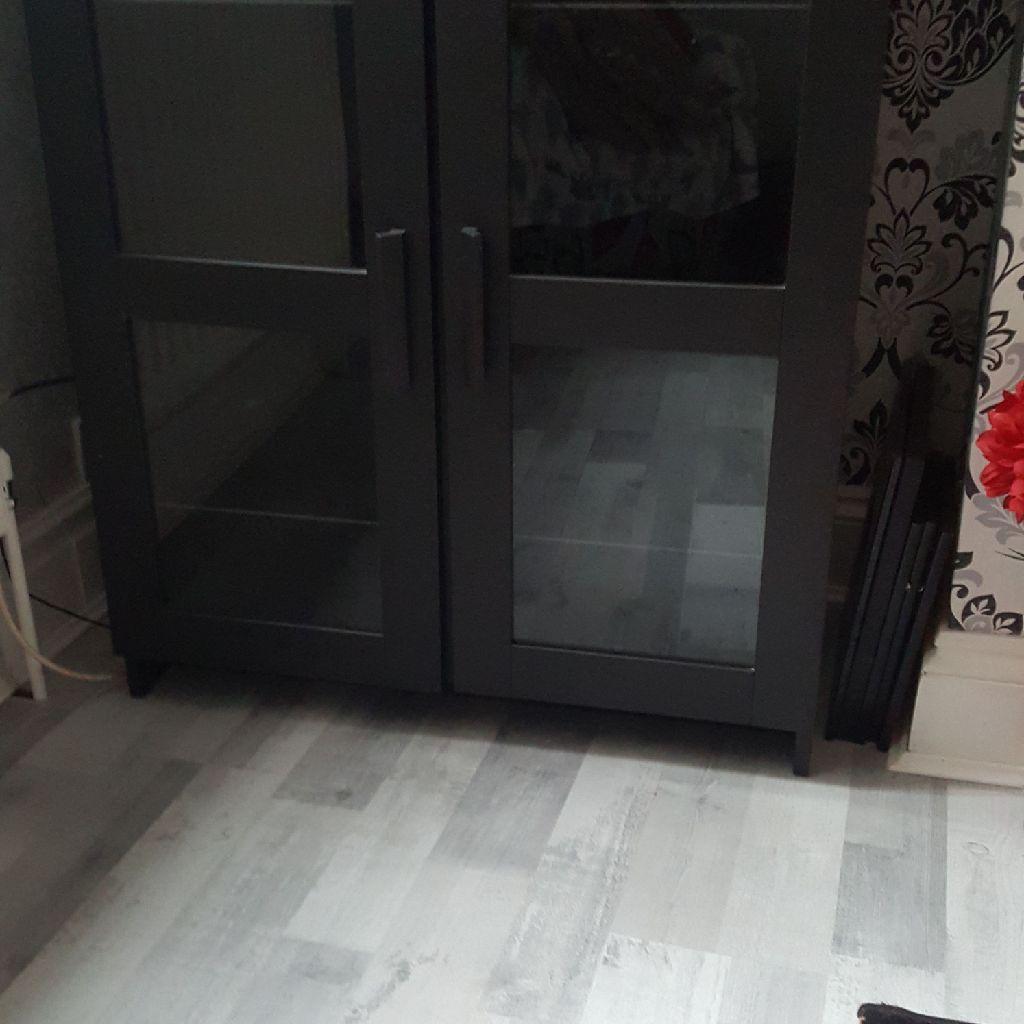 Ikea black cabinet