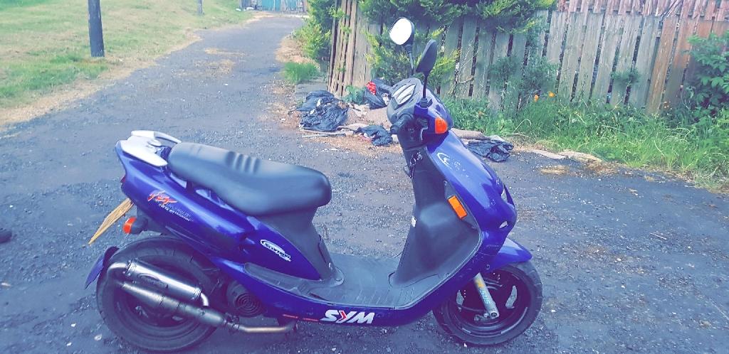 sym jet 50cc moped