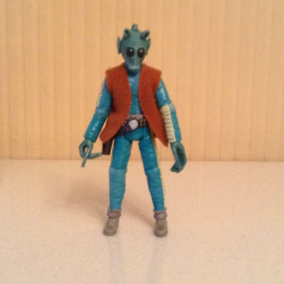 Star Wars Figure Greedo