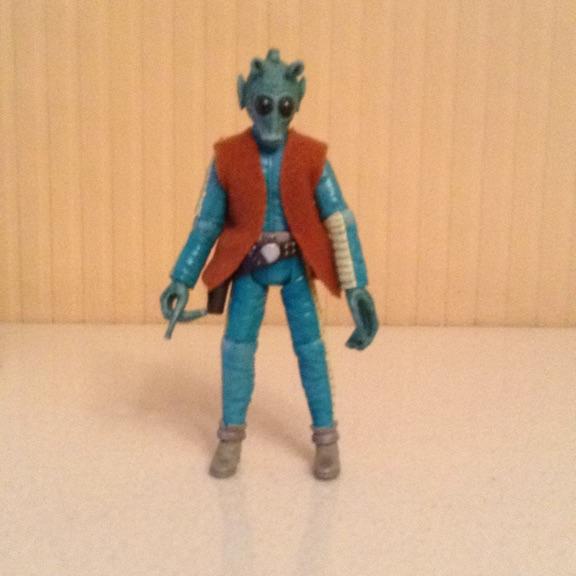 Star Wars Figure Greedo