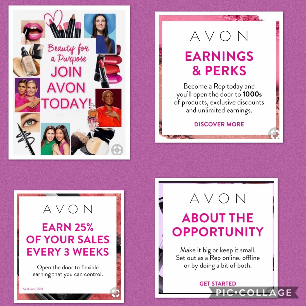 Join Avon and start earning