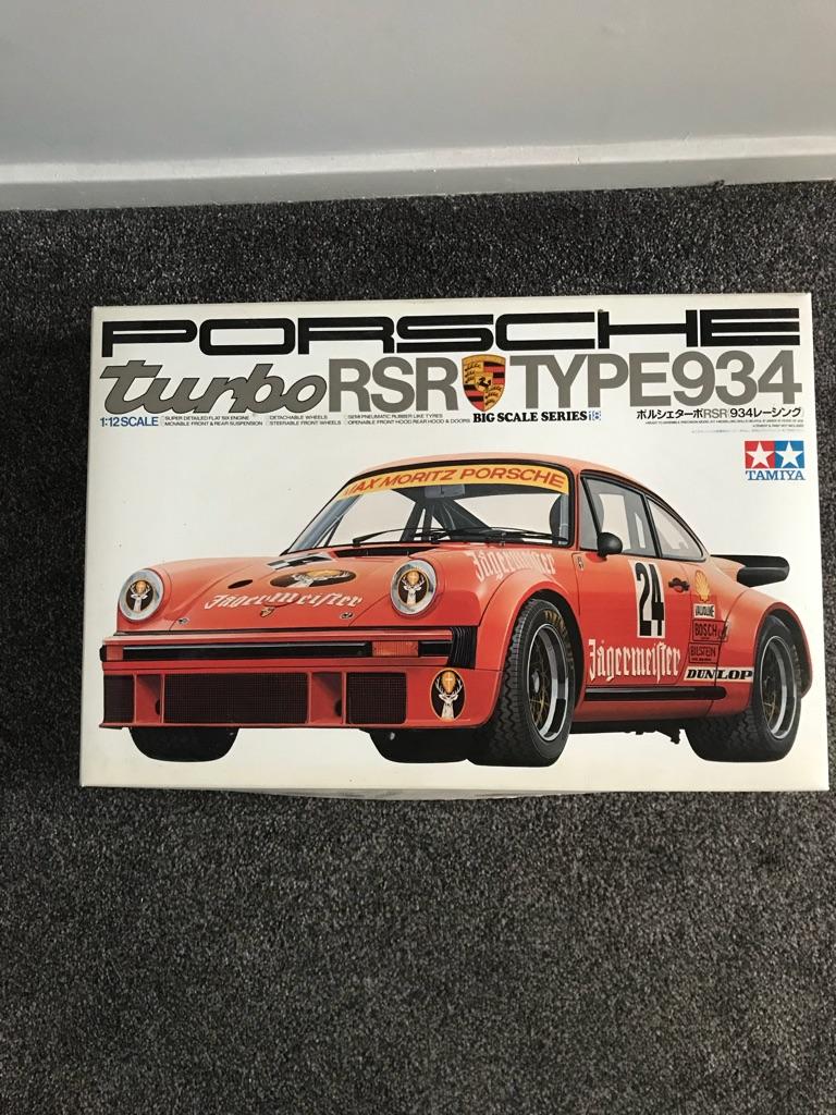 Tamiya 1/12 model Porsche