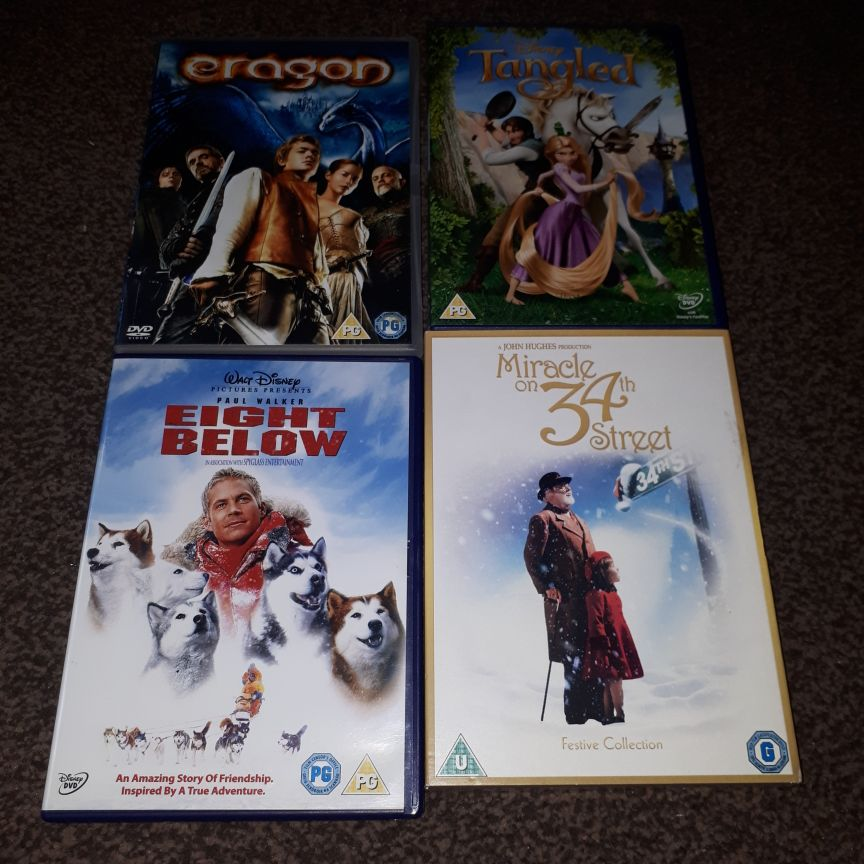 Children DVDS x16