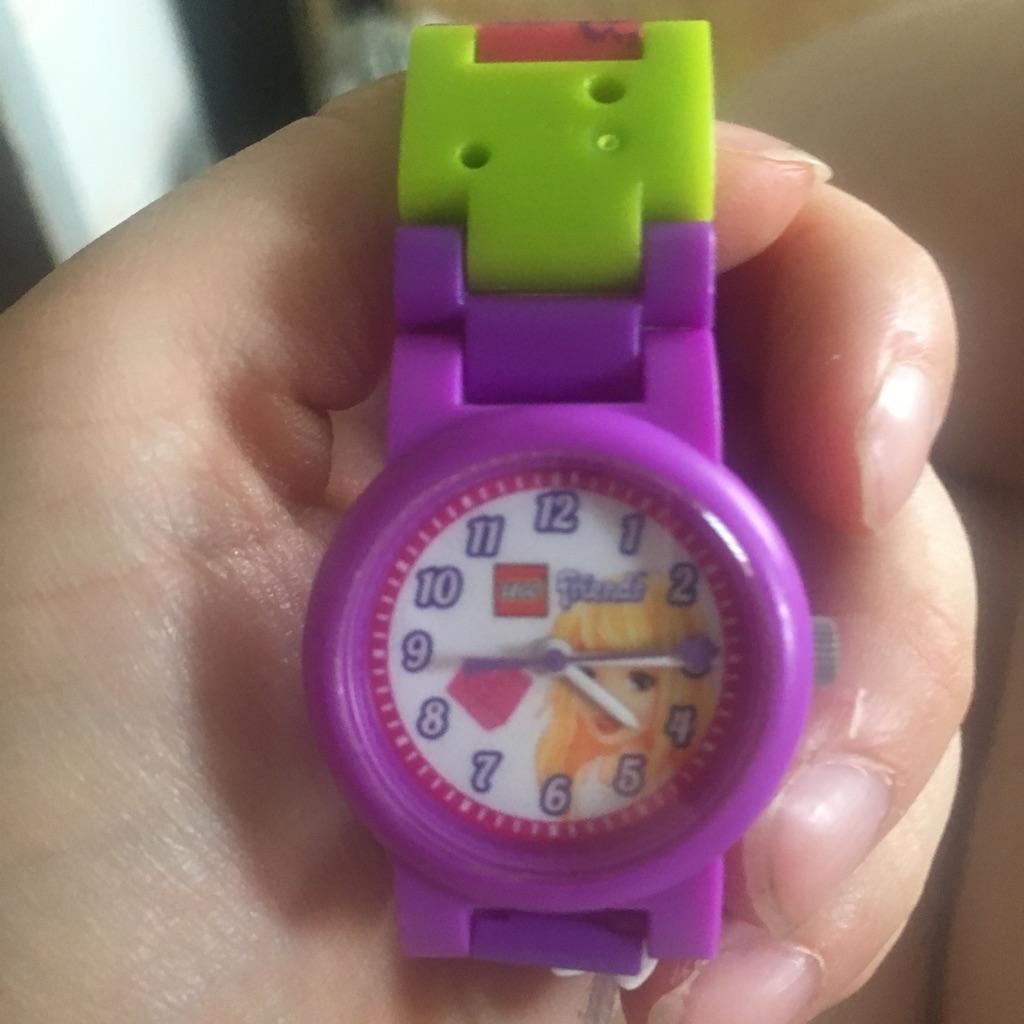 Little girls Lego watch
