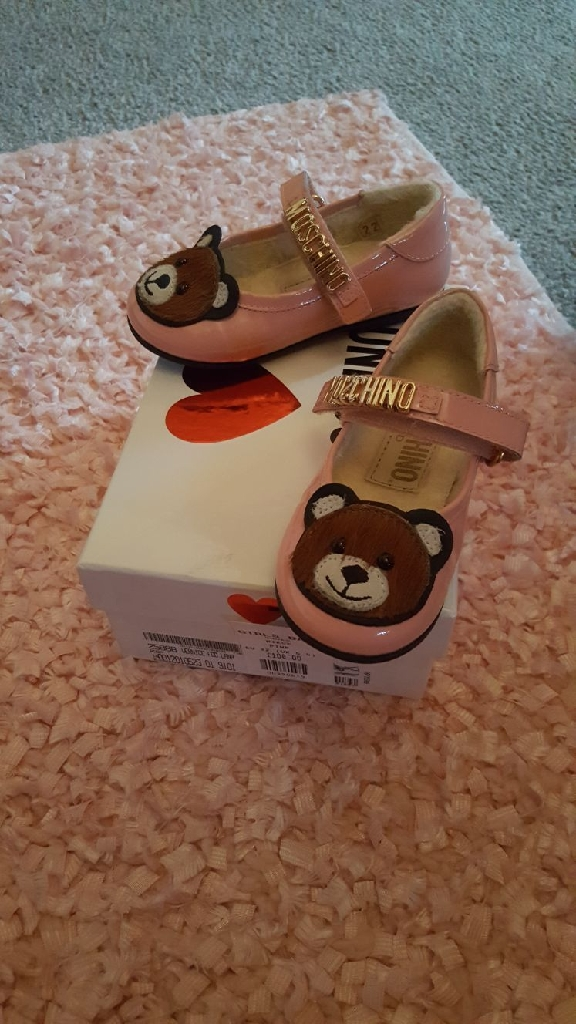 Moshino girls shoes