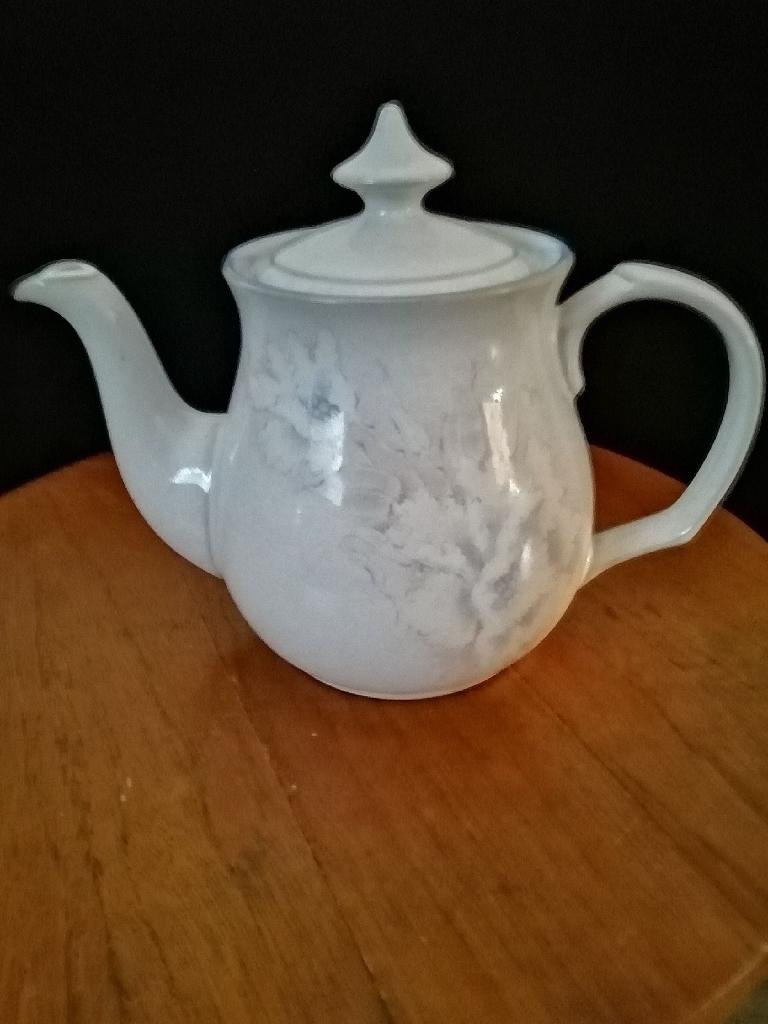 A Vintage Denby Tasmin Teapot.