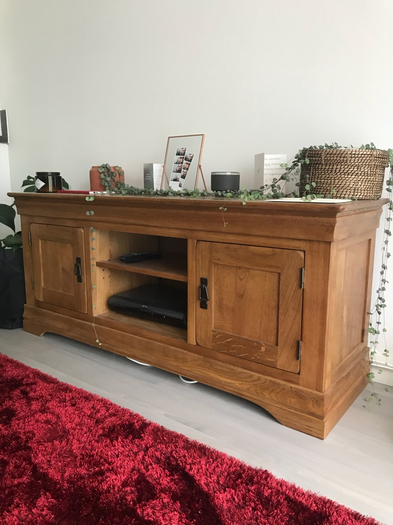 Oak Credenza Unit in Perfect Condition