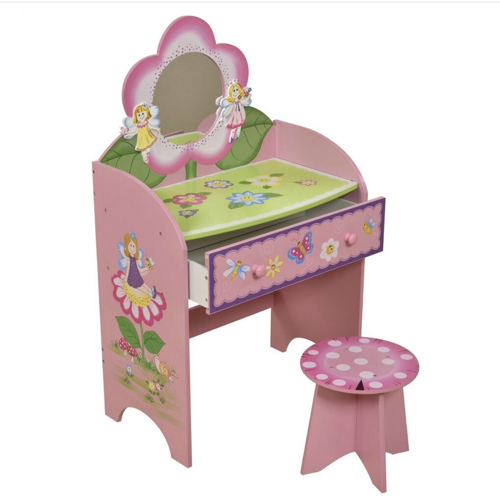 Fairy Dressing Table & Stool