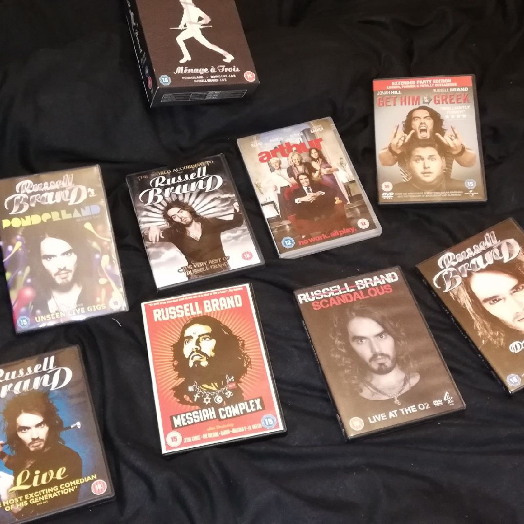 Russell brand DVDs