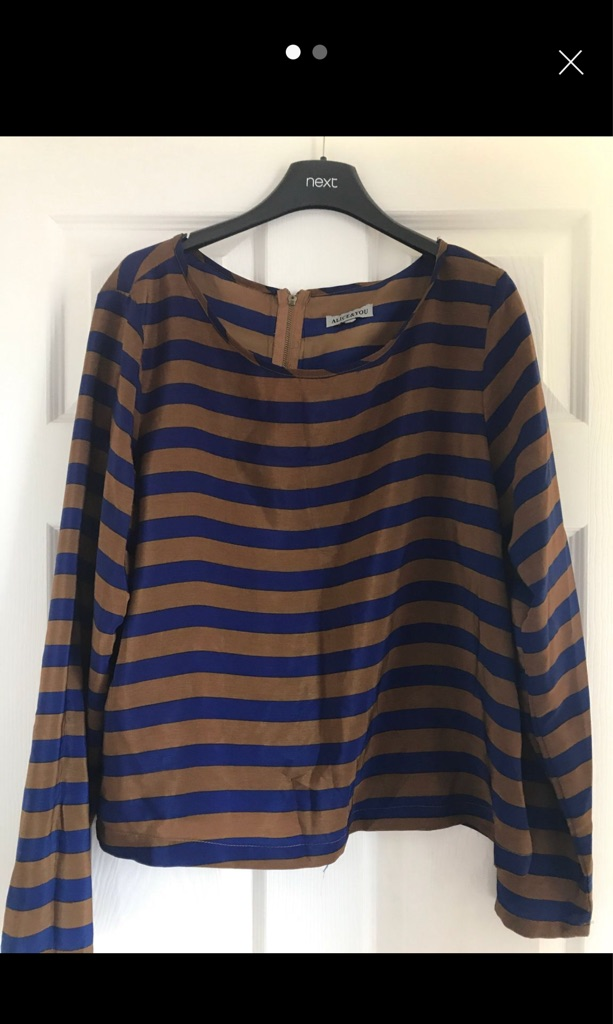 Newlook top size 12/14