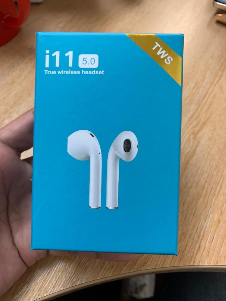 i11 TWS Bluetooth Wireless EarPods AirPods