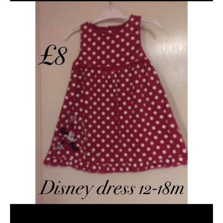 Disney dress 12-18m