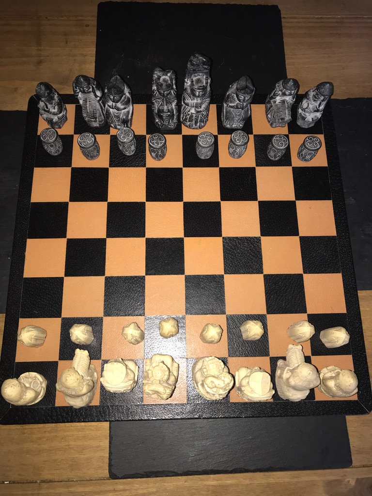 Isle of Lewis Chess Set. Board games. Games.