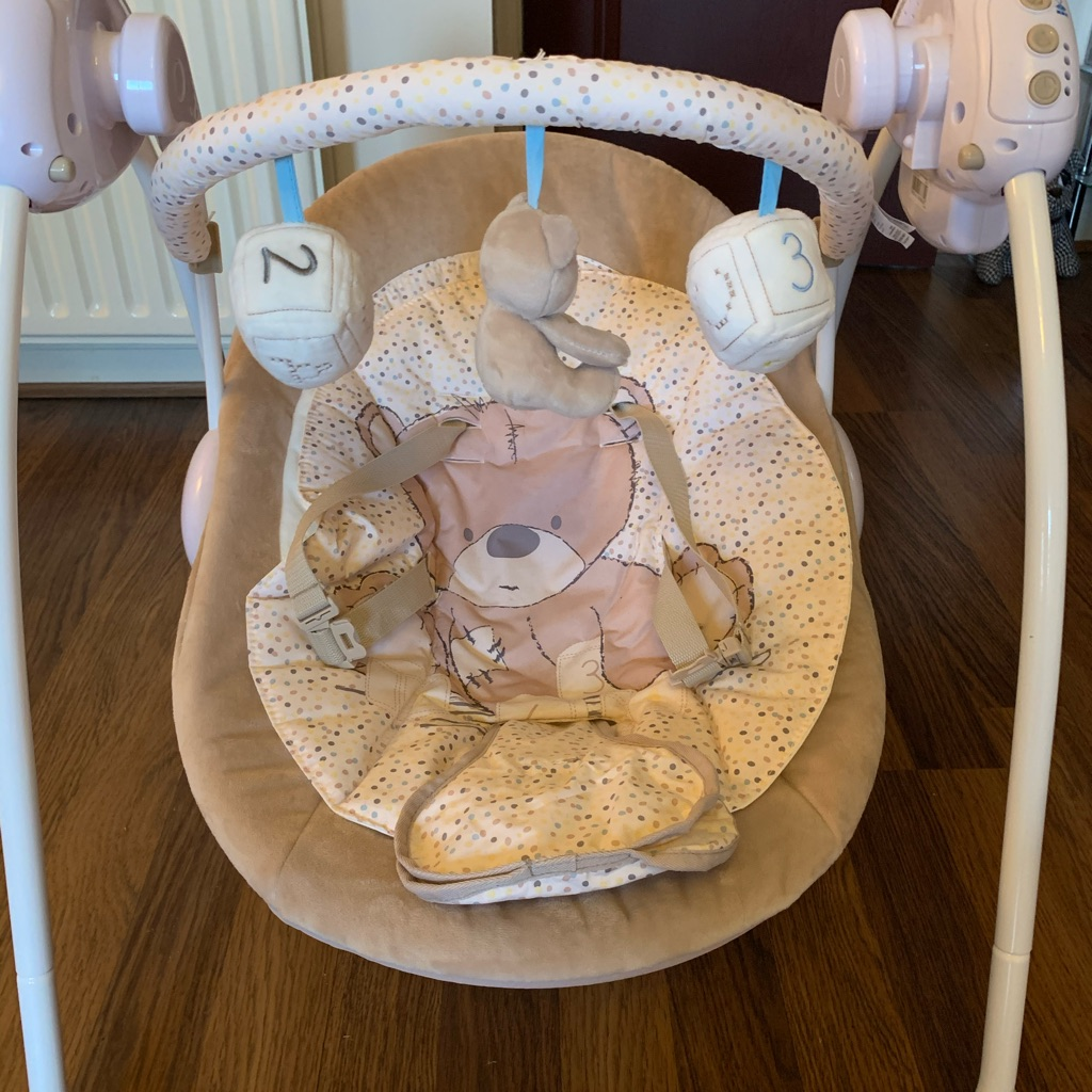 Teddy's Toy Box Baby Swing