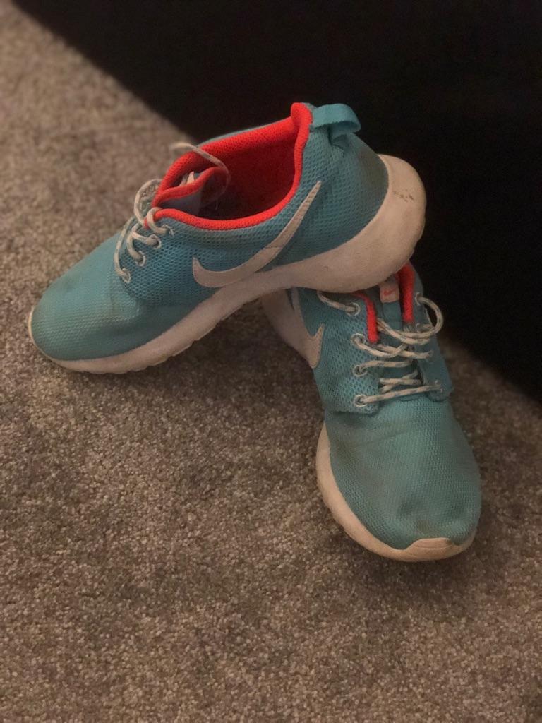Blue Nike Roche
