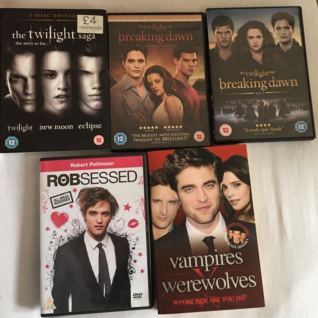6 DVD's & book.