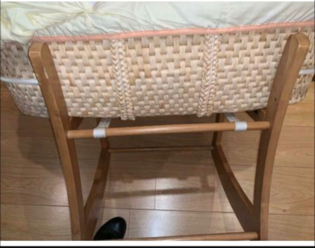 Moses Baby Wicker Basket