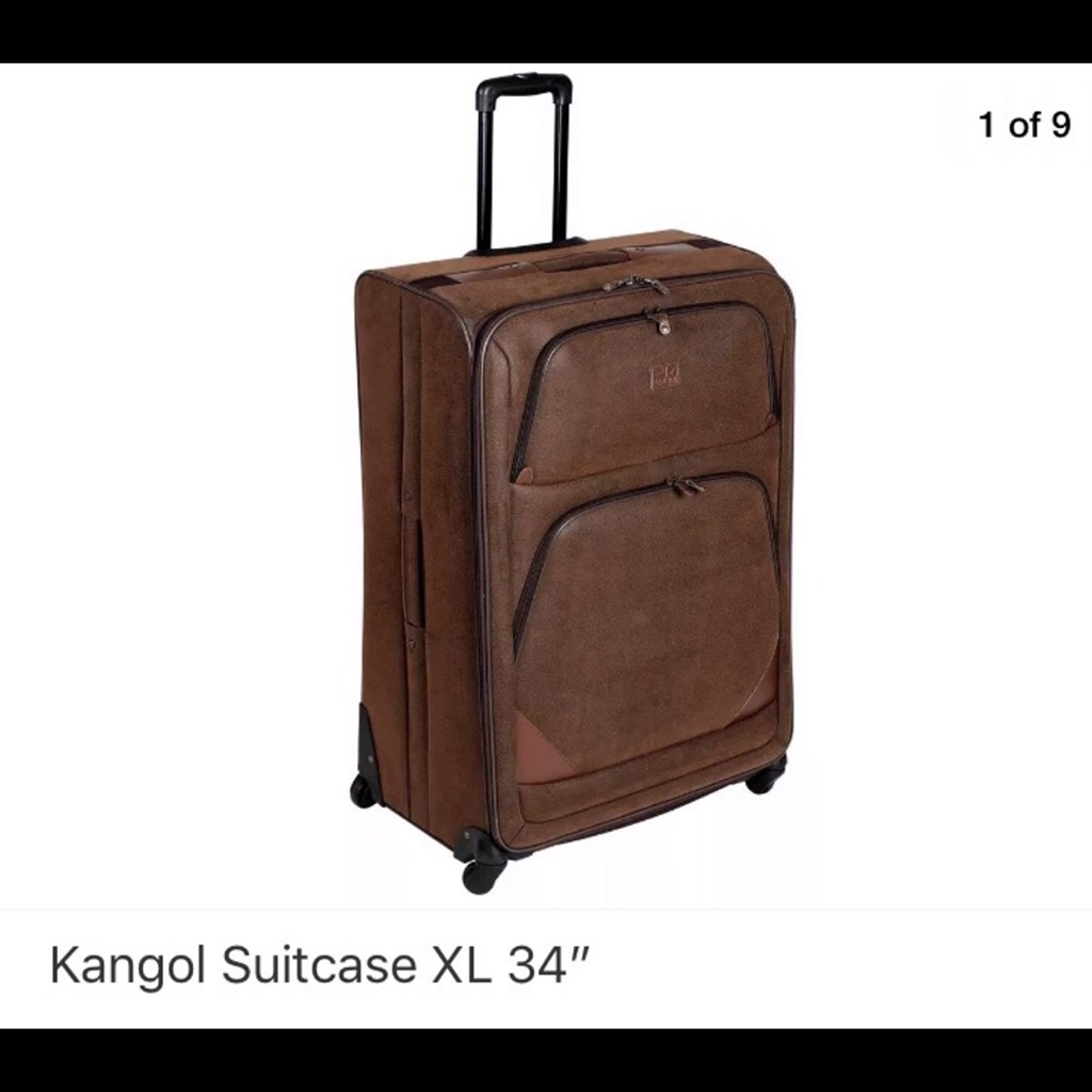 "Kangol34"" suitcase Brand new rrp:£100"