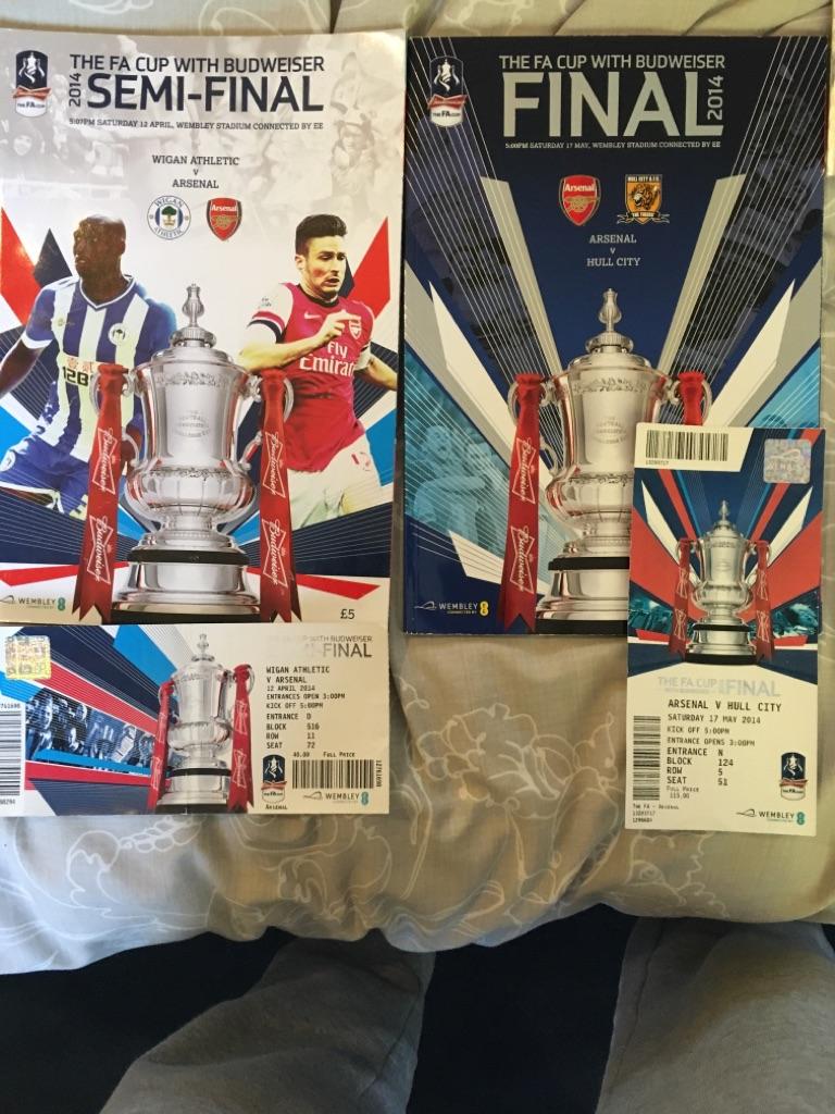 Arsenal FA cup final v Hull
