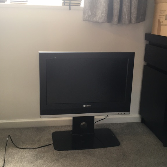 "23"" HD Toshiba TV and stand"