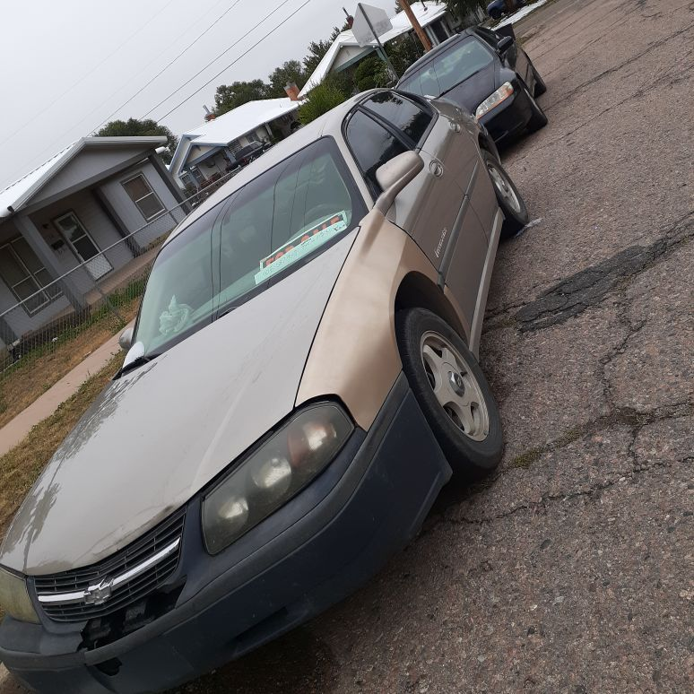 Impala Chevy 2001