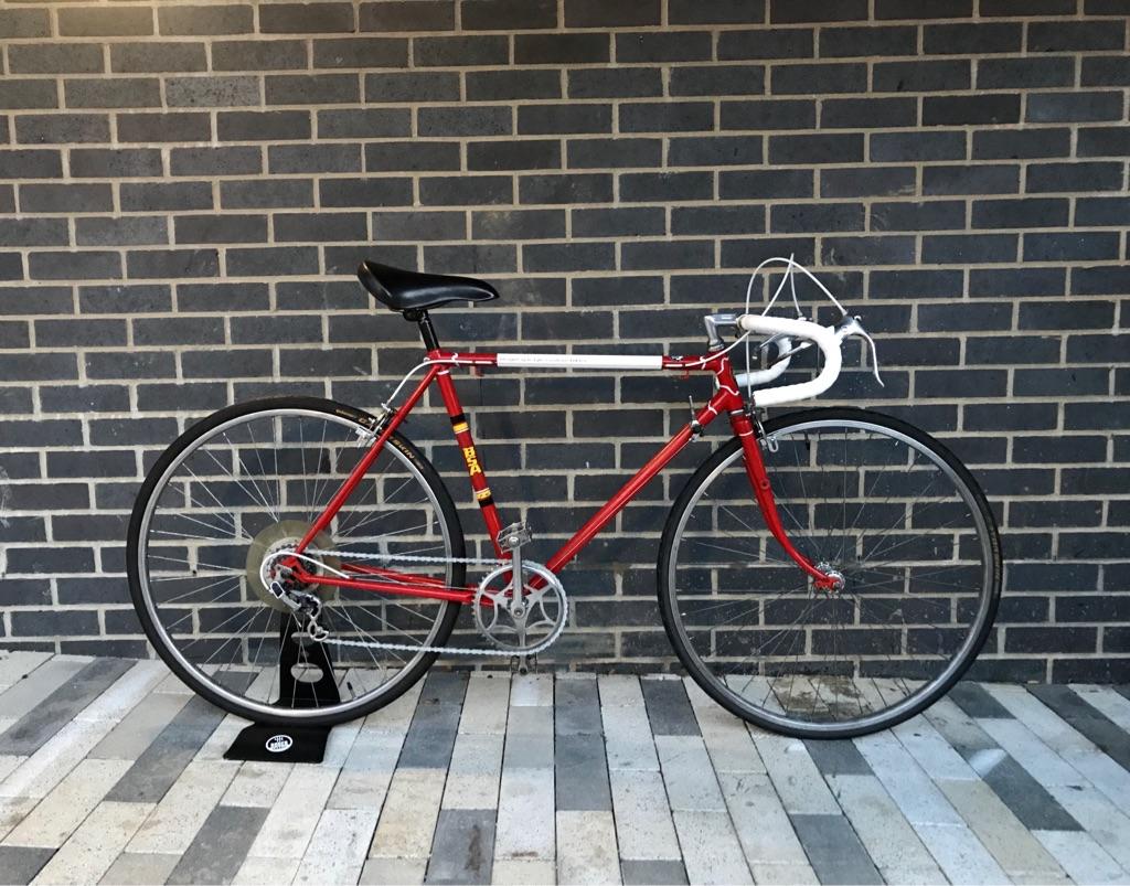 Road Bike Bsa Raleigh components