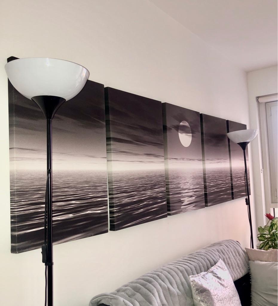 Large moonlight canvas