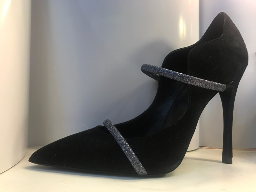 ICONE Black6.5 Evening Party Heels
