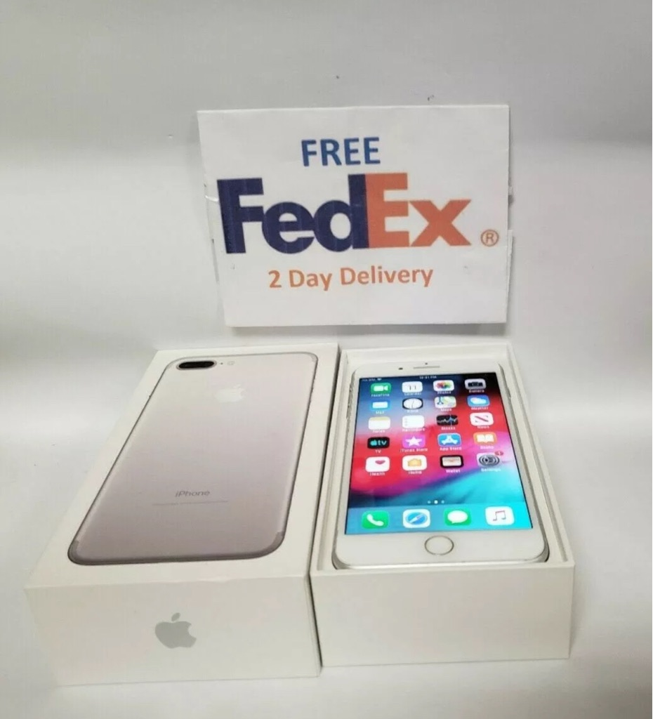 Silver Apple iPhone 8 Plus - 256GB (Unlocked) New open-box