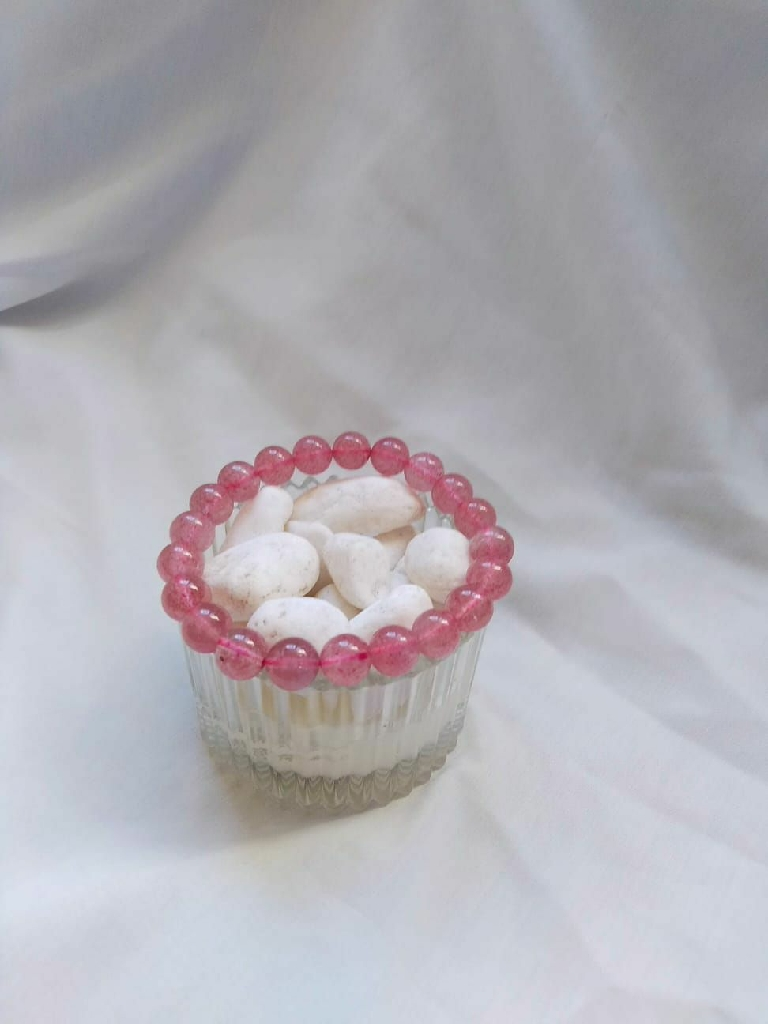 草莓晶手鏈Crystal