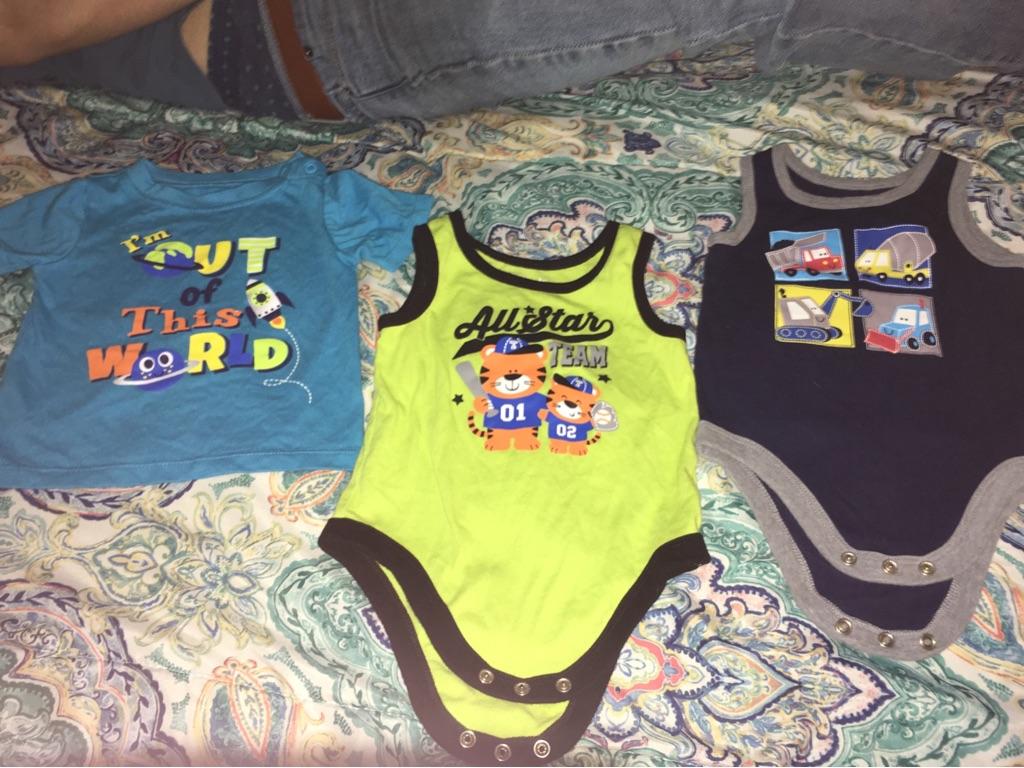 Boy clothes 3-6m, 6m, & 6-9m