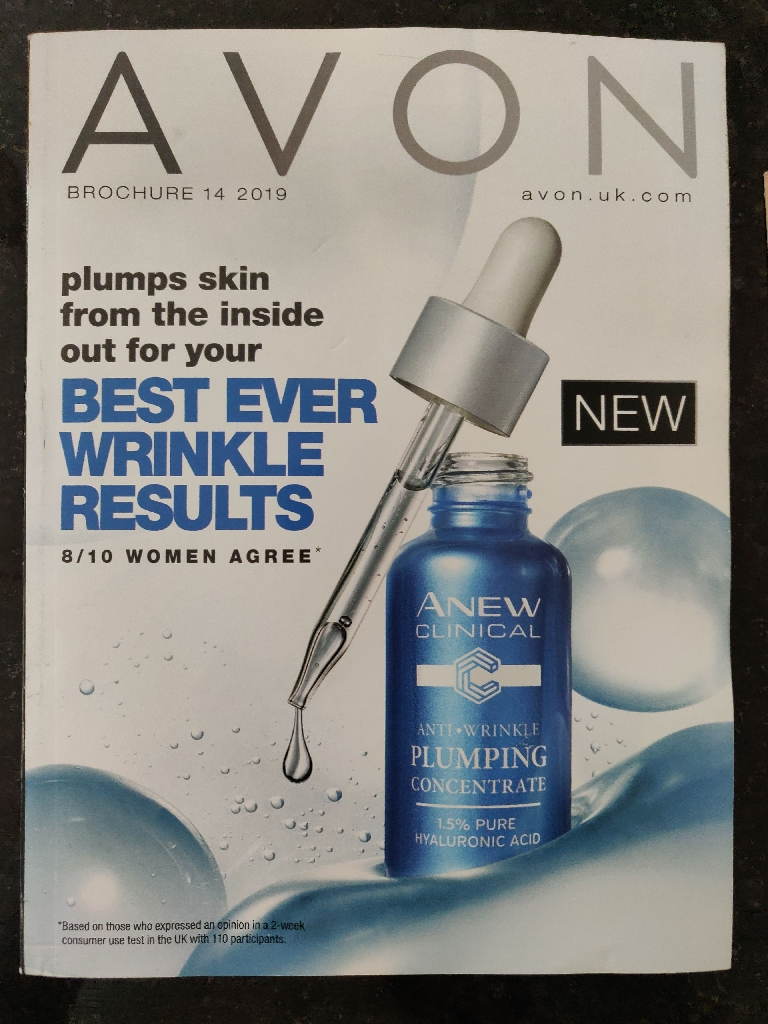 Free Avon catalogue