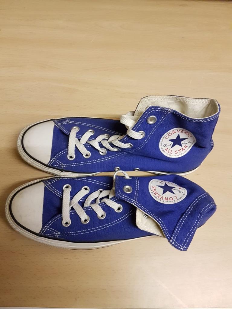 Blue converse uk 6