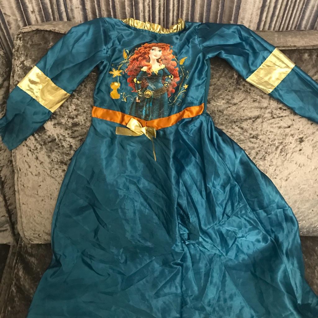Merida (brave) costume