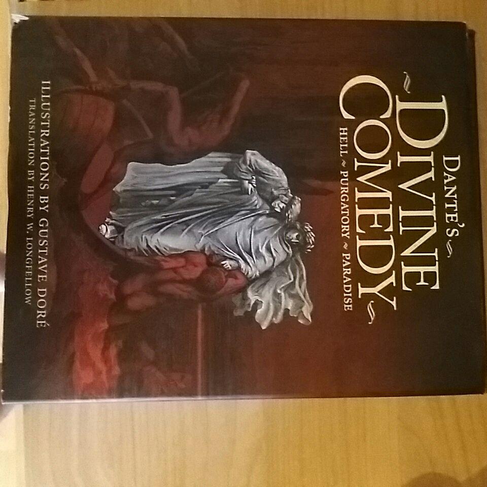 Dante's Divine Comedy Hell-Purgatory-Paradise