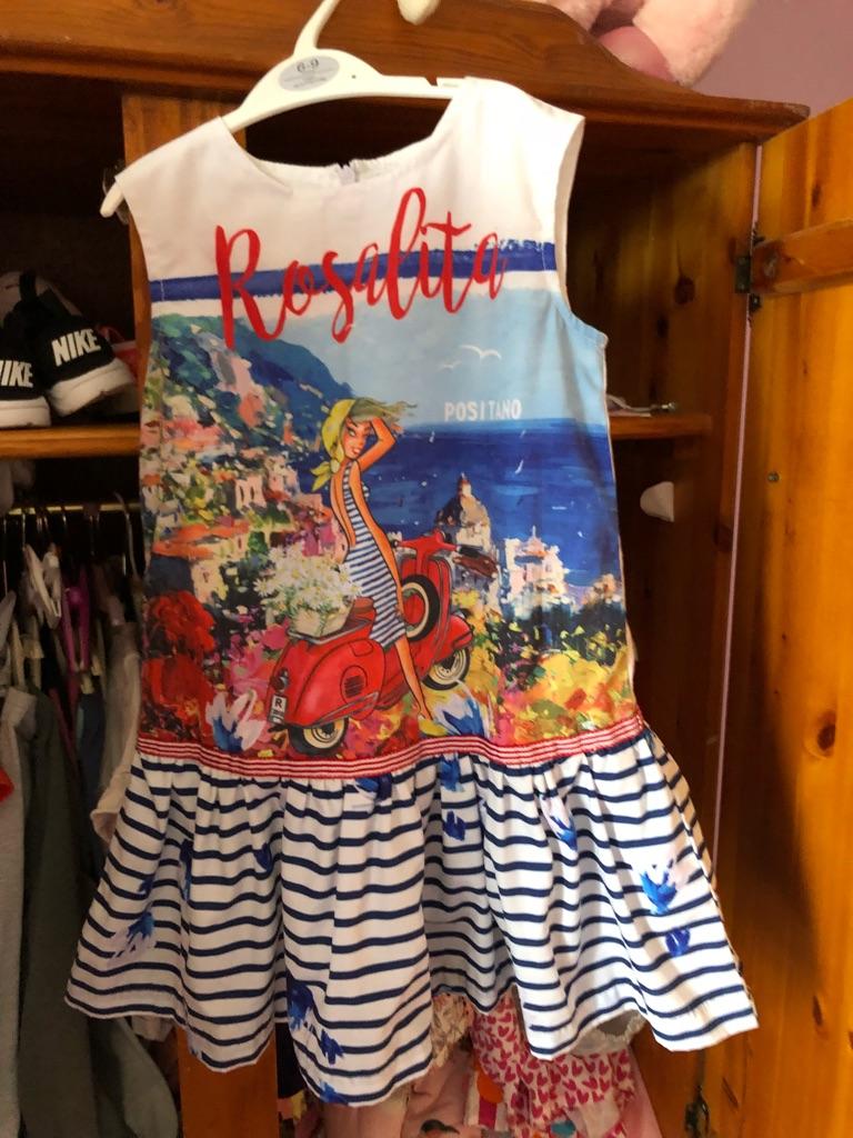Girls rosalita dress age 6