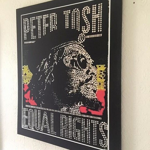 Peter Tosh Canvas print Wall Hanging(new)