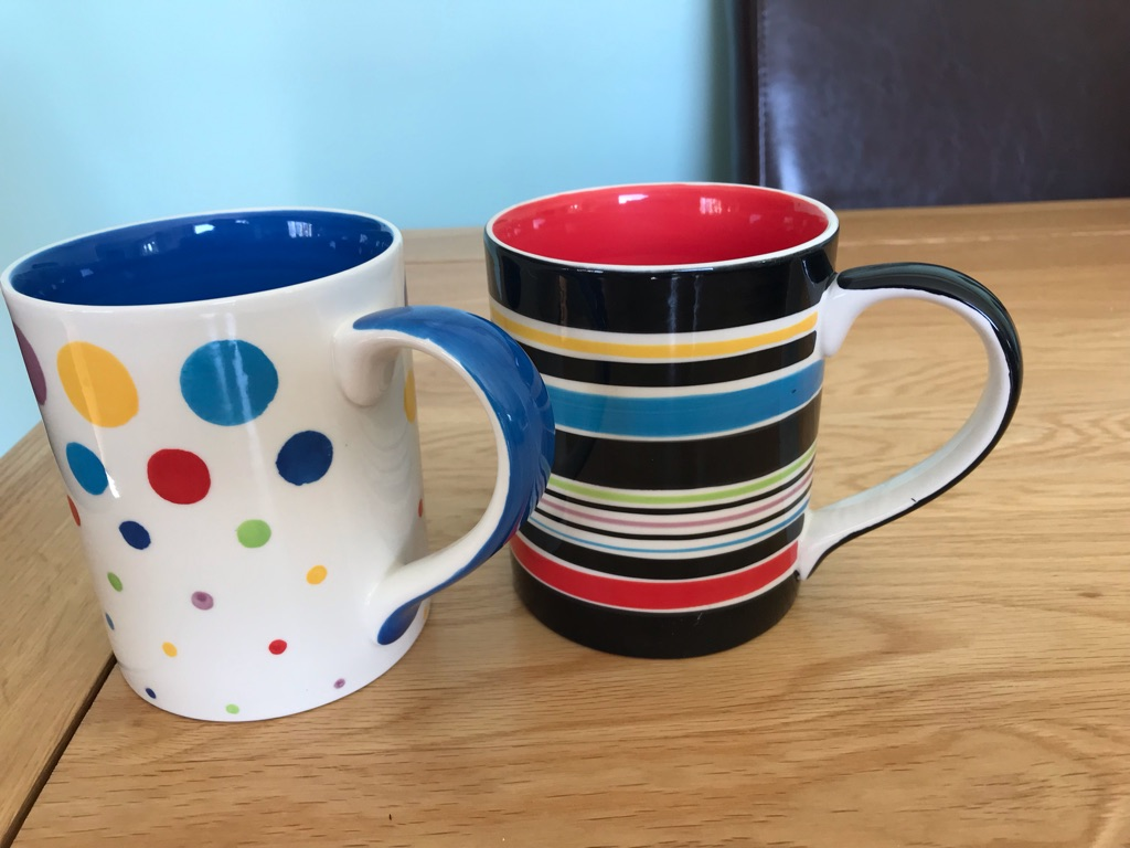 7 new mugs small & large size from Whittard by Chelsea