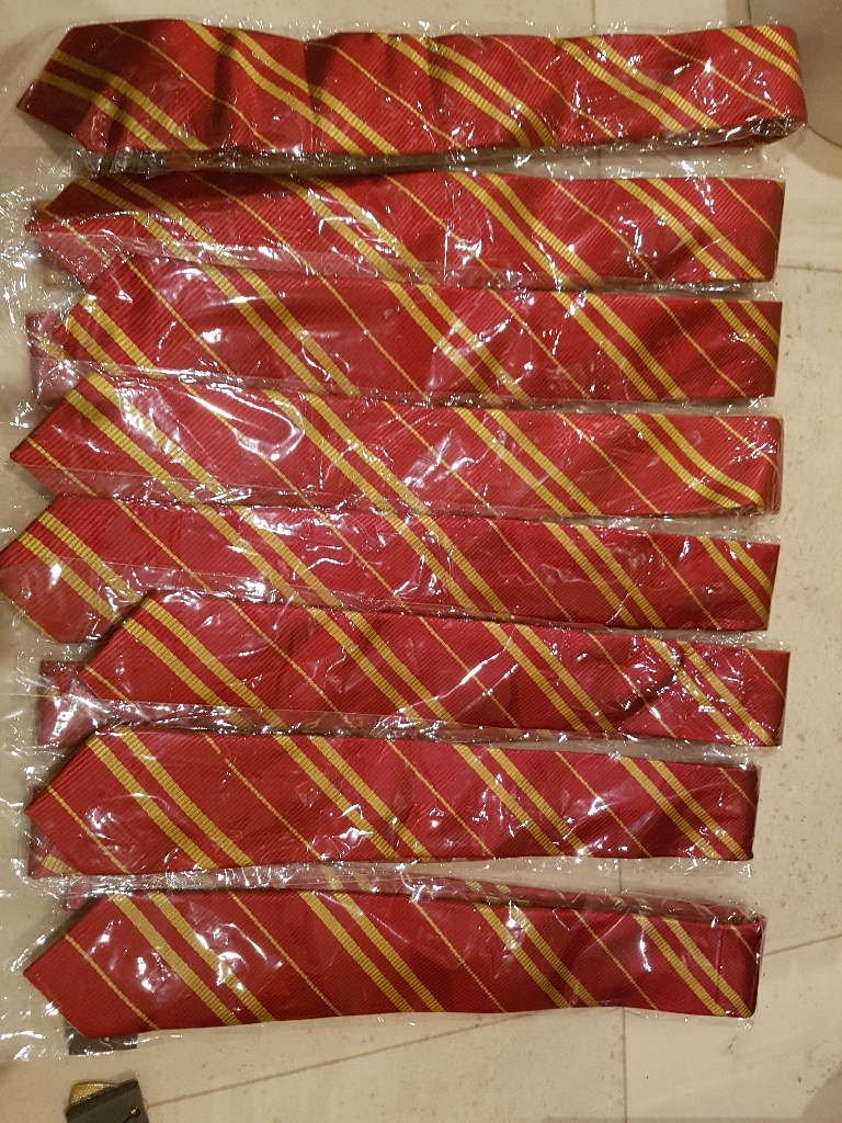 Harry potter style ties
