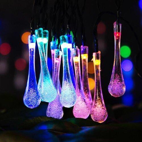 Garden Solar String Lights 30 LED - Multicolour